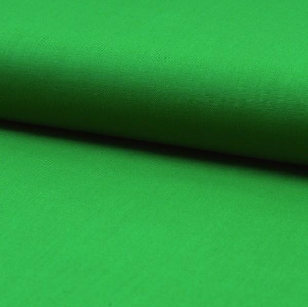 Baumwollstoff helles grasgrün, Webstoff
