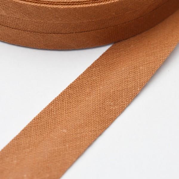 Schrägband, 20 mm, schoko