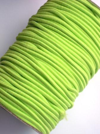 Gummischnur, 3 mm, lime