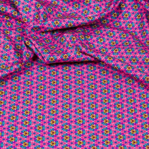 Hilco Hilde Narzissen pink, Popeline