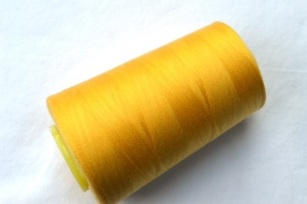Overlock Garn, gelb
