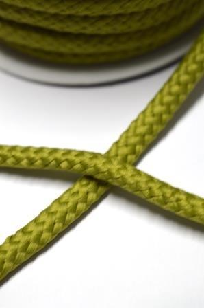 Flechtkordel, 8 mm, olivgrün