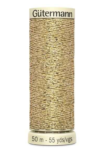 Gütermann Metalleffektfaden, gold (24)