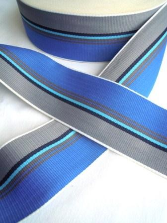 Band, 53 mm, blau-grau *SALE*