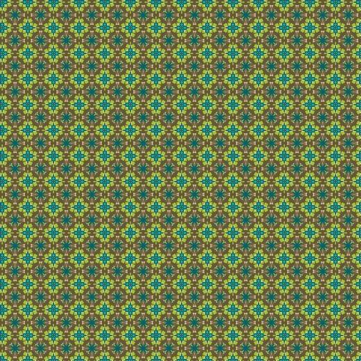Grafisches Muster, grün, Baumwoll-Popeline, 60°waschbar
