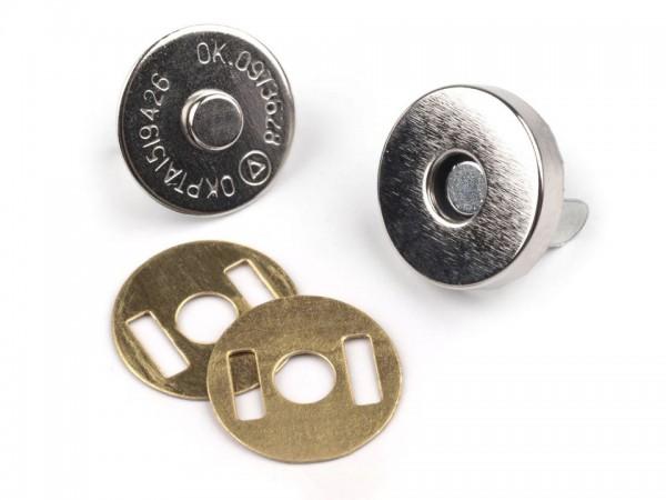 Magnetverschluss, 18 mm, silber