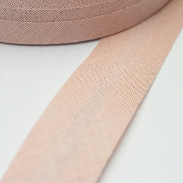 Schrägband, 20 mm, helles altrosa