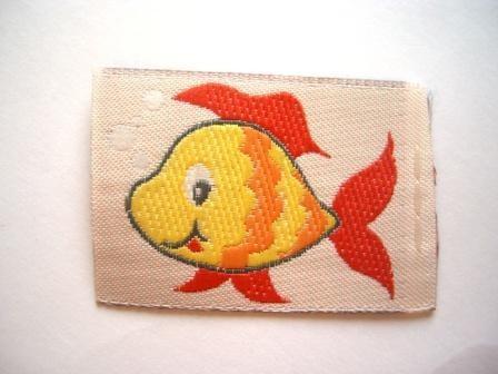 Fisch, Webetikett *SALE*