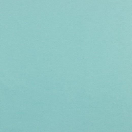 Glattes Bündchen eisblau