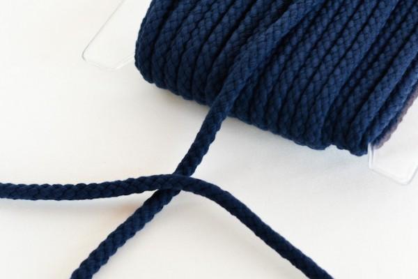 Flechtkordel, 8 mm, dunkelblau