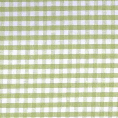 Vichykaro, groß, oliv-weiß kariert