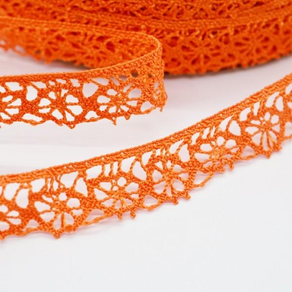 Klöppelspitze, Sonne, orange