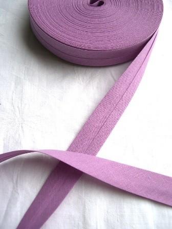 Package Schrägband, 20 mm, violett - 10 Meter
