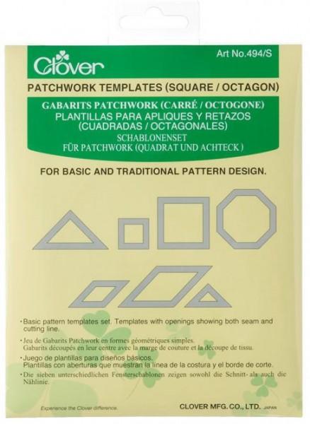 CLOVER Schablonen (Square/Octagon)