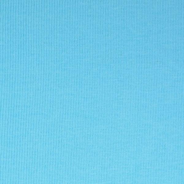 Ripp-Bündchen helltürkis