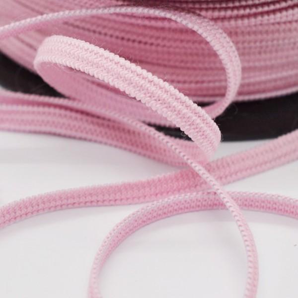 Flachgummi, rosa, 5 mm