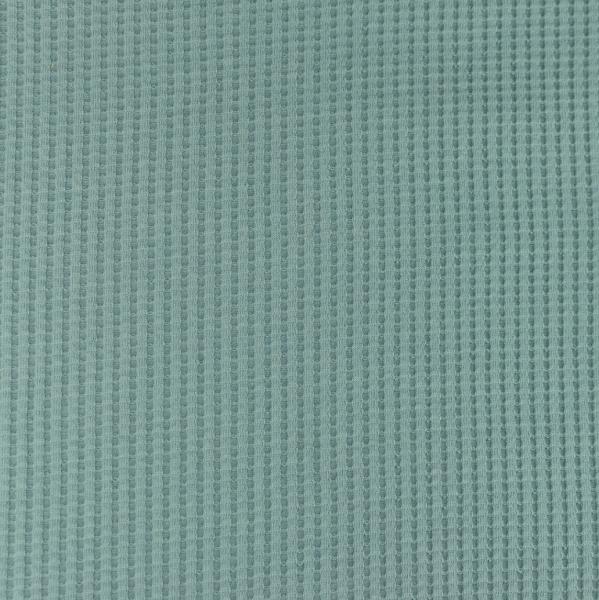 Waffel-Jersey, jeansblau