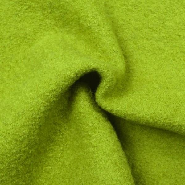 Weicher Wollwalk, grasgrün