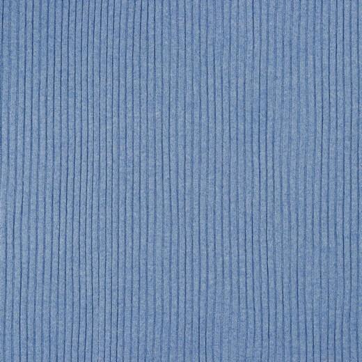 XL Ripp-Jersey, dunkles hellblau-meliert
