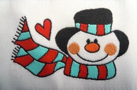 Snowman, Webetikett *SALE*