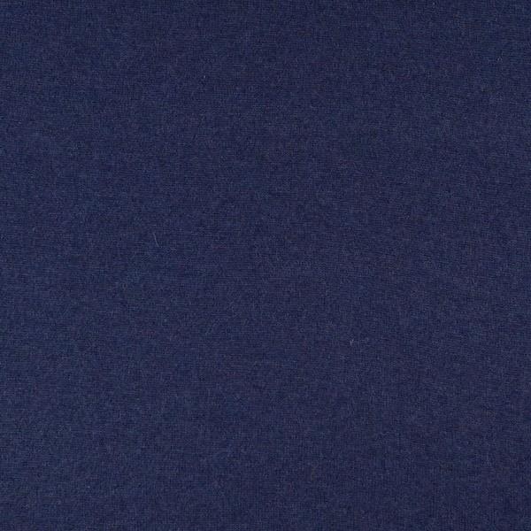 Merino-Strickstoff mit Kaschmir-Touch dunkelblau-meliert