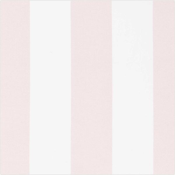 Dekostoff, Breite Streifen, rosa/weiß