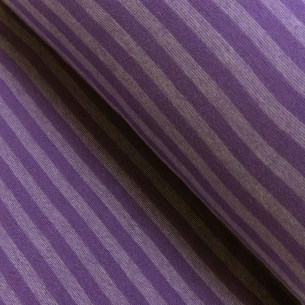 Ringelbündchen breit, lila, *Letztes Stück ca. 120 cm*