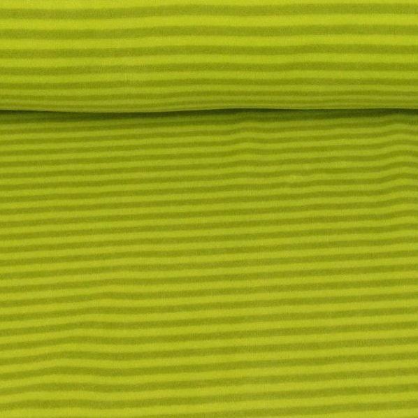 Nicky Streifen schmal, grün/lime, Nicky