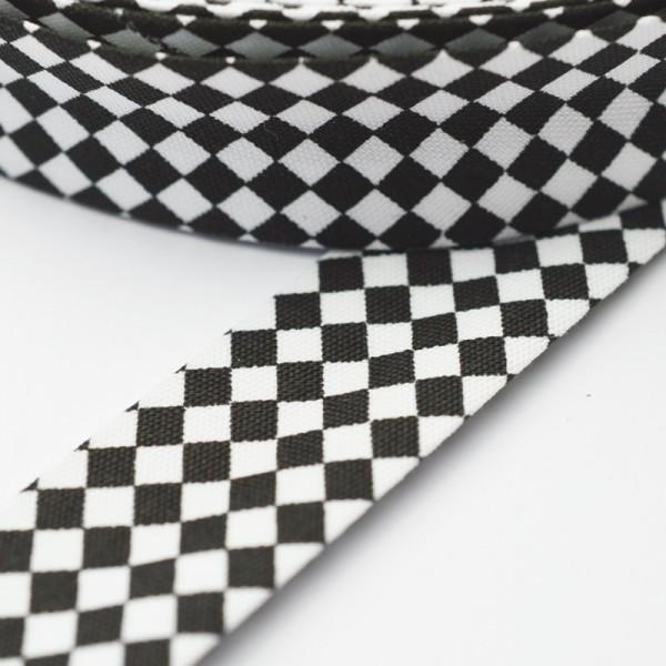 Schrägband, Black&White, Schach