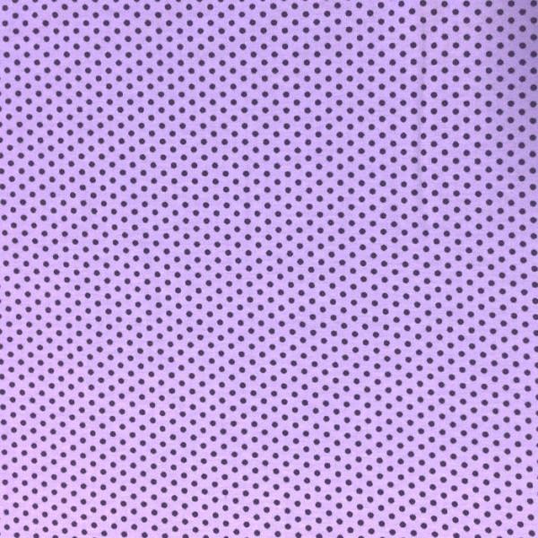 Emil, Minipunkte, violett auf flieder, Jersey