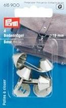 PRYM Bodennägel, 15 mm, silber