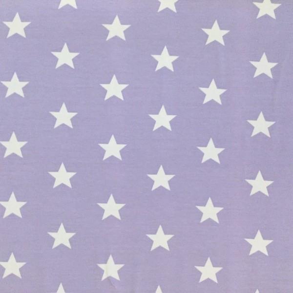 Stars weiß auf flieder, Jersey