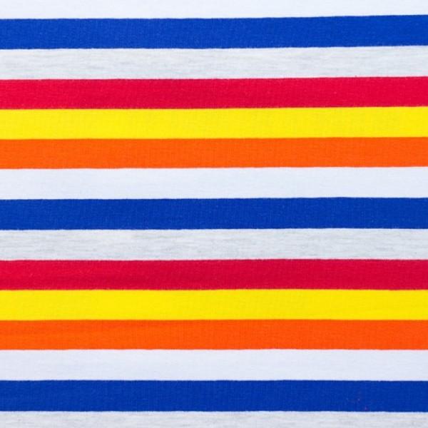 Multicolor Streifen blau-rot-gelb, Jersey