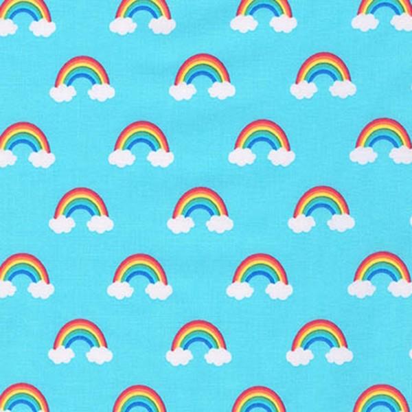 Rainbow Blue, Webstoff