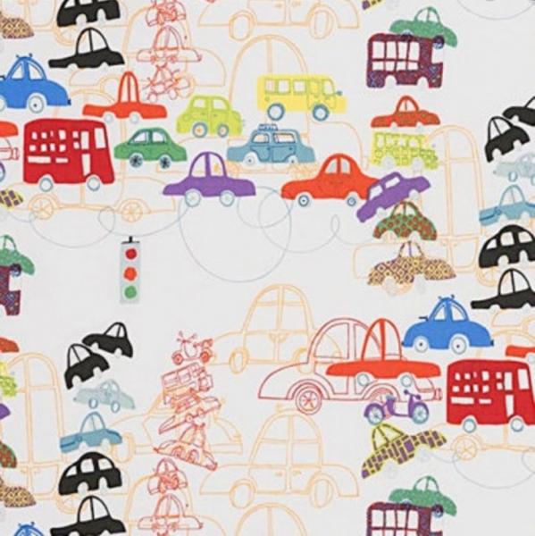 A. Henry, Traffic Jam, Baumwollstoff