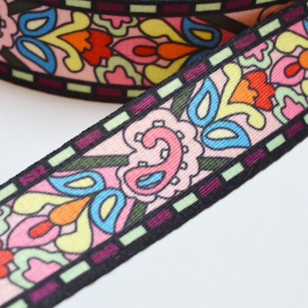 Gurtband, Inka Blumen