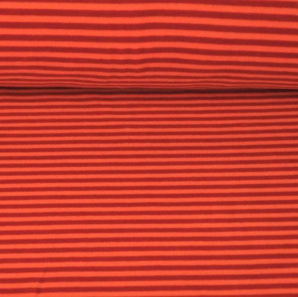 Nicky Streifen schmal, rot/orange, Nicky