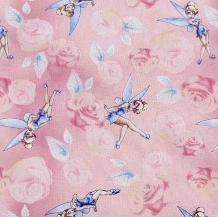 Disney, Tinkerbell rosa, Webstoff