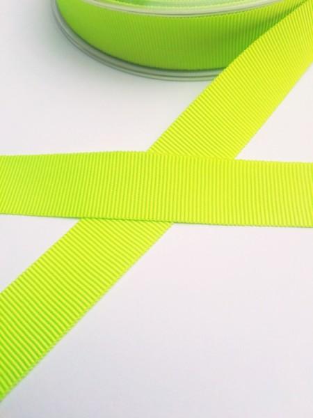 Ripsband, neongrün