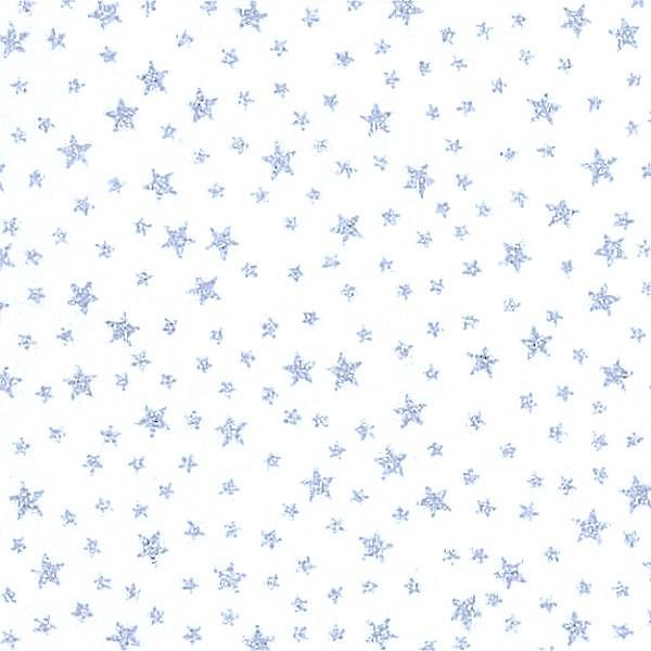 Sternenregen silber, Webstoff, *Letztes Stück, 90 cm*