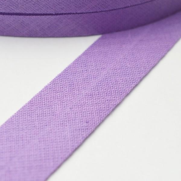 Schrägband, 20 mm, lila