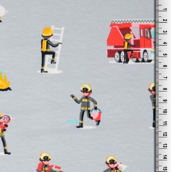 Feuerwehrmänner grau, Jersey