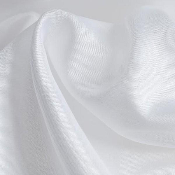 Futterseide weiß
