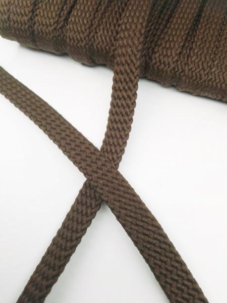 Hoodieband, 10 mm, dunkelbraun