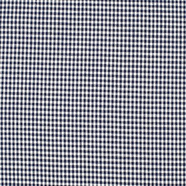 Vichykaro, klein, dunkelblau-weiß kariert