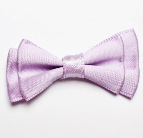 Satindoppelschleife, lila