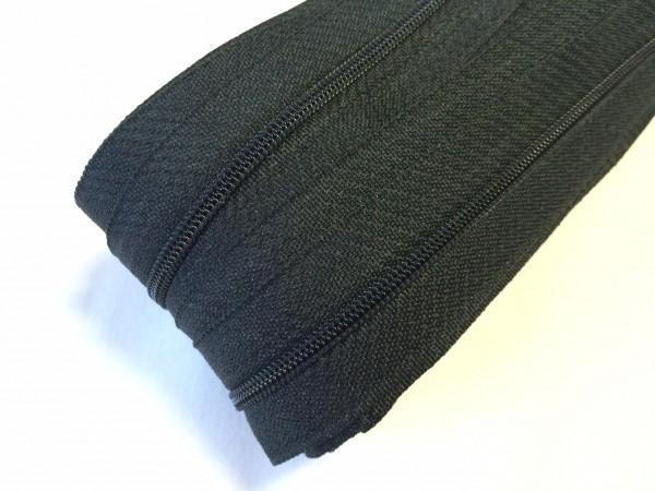 Endlosreißverschluss, schwarz