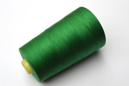 Overlock Garn, grün