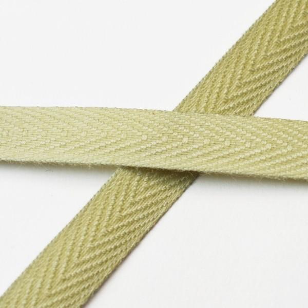 Köperband, 10 mm, helles beige
