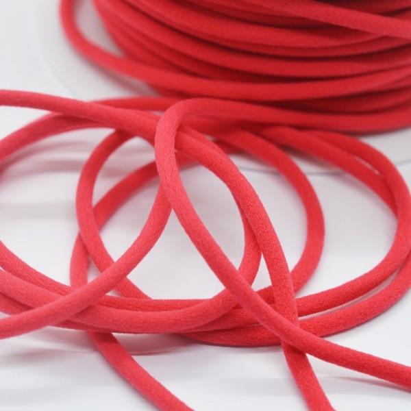 Trägergummi, mittel, rot